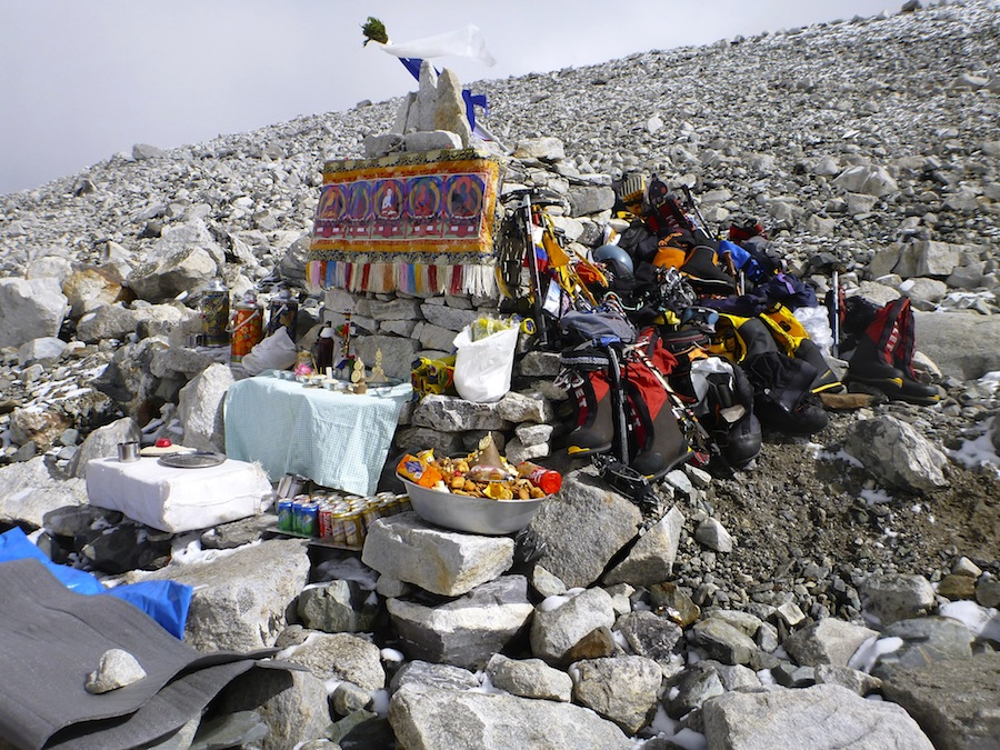 Cho Oyu puja in ABC