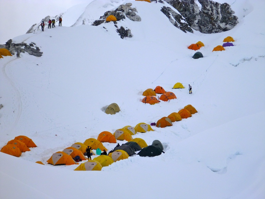 Cho Oyu lower C1