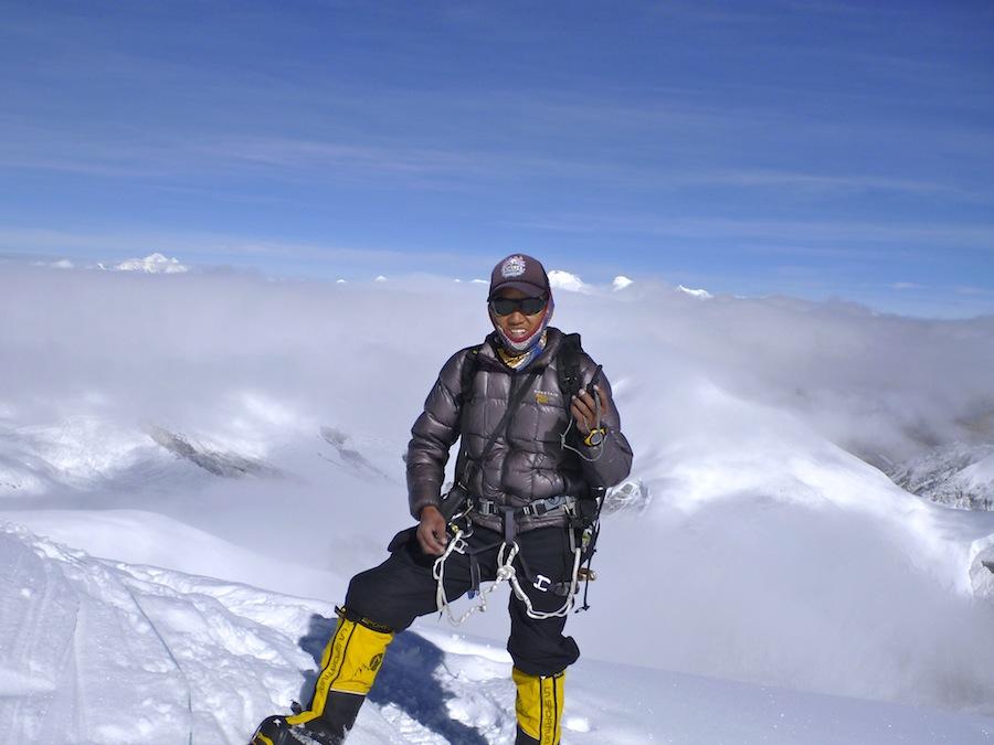 Jangbu at 6700 m