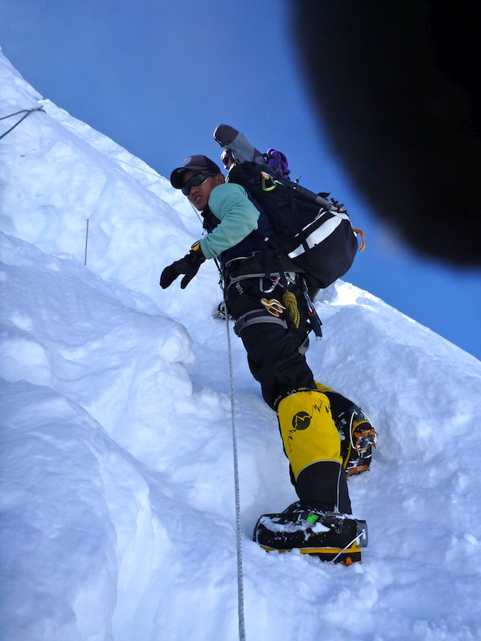 crux on Cho Oyu