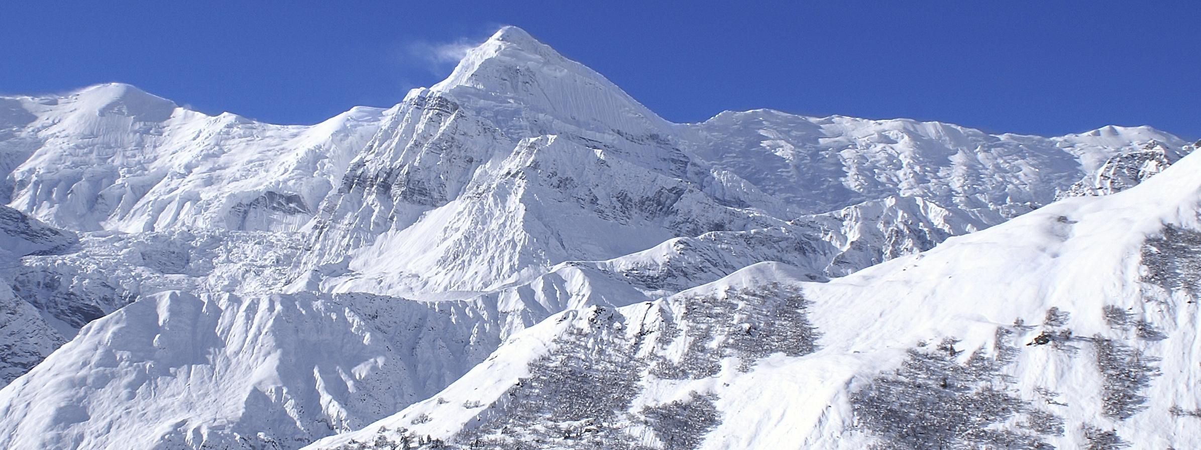 Klättring i Himalaya