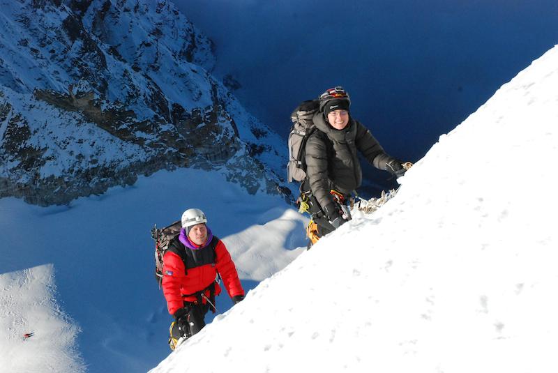 Kyazo Ri teknisk klättring