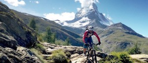 Mountainbike Haute Route