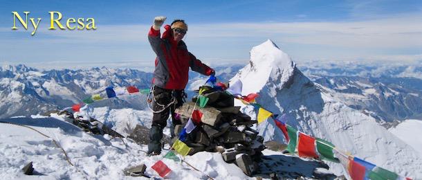 Klättra Mount Kan med adventurelovers.se
