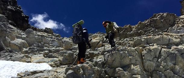 Aconcagua close Camp Colera