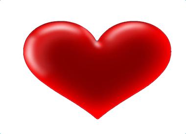 Hjärta webb
