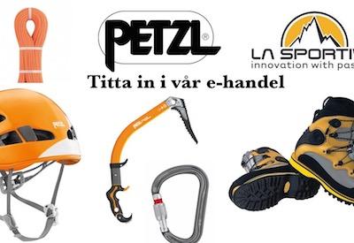 Handla klätterutrustning till fina priser hos Adventure Lovers