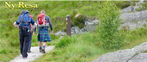 Vandra West Highland Way med adventurelovers.se